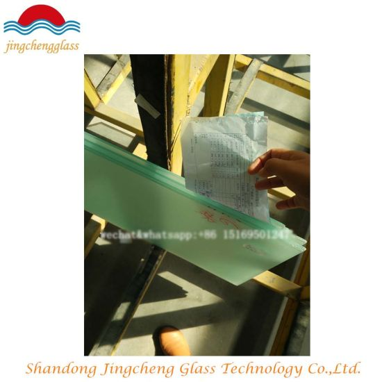 5mm, 6mm, 8mm, 10mm, 12mm Toughened Glass/Tempered Glass pictures & photos