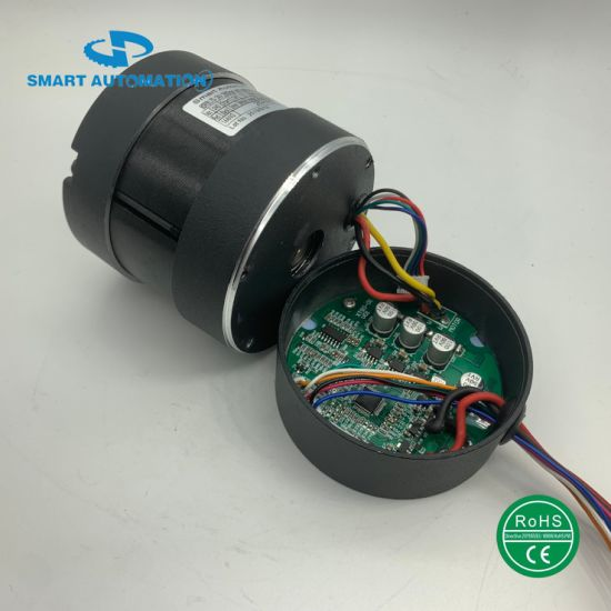 80mm Controller Integrated Brushless DC Motors for Vacuum Pumps and Automatic Machines