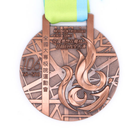 Custom High Quality Sports Metal Medal Customized Marathon Medal Manufacturer pictures & photos