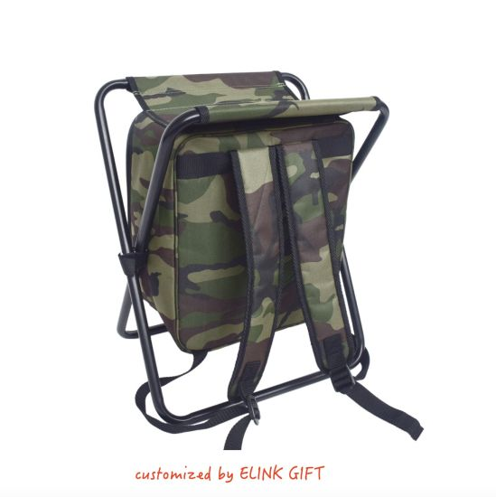 Strange Foldable Stool Outdoor Camping Seat And Insulated Ice Bag With Padded Shoulder Strap Creativecarmelina Interior Chair Design Creativecarmelinacom