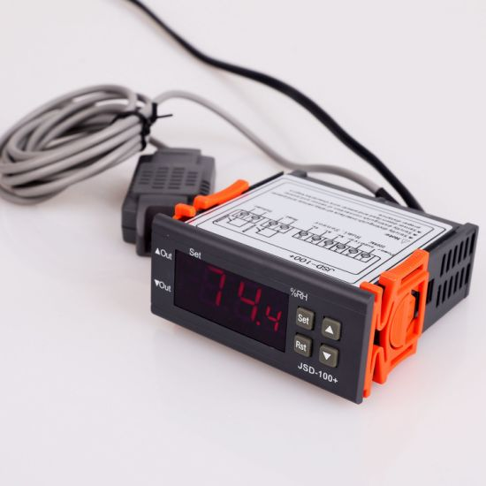 Hot Selling Digital Temperature and Humidity Meter Temperature Controller and for Wholesales Jsd-100+