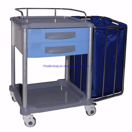 ABS Medicine Nurse Medical Push Trolley to Hospital Equipment pictures & photos