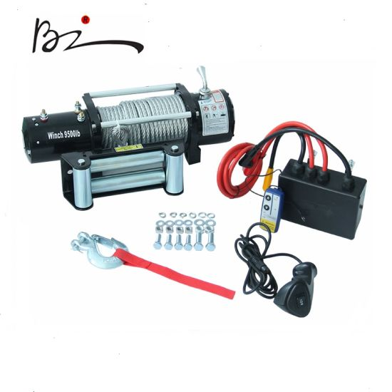 off-Road Winch & Auto Winch & 4X4 Winch with 9500lbs