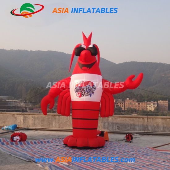3m High Logo Giant Inflatable Lobster Festive Party pictures & photos