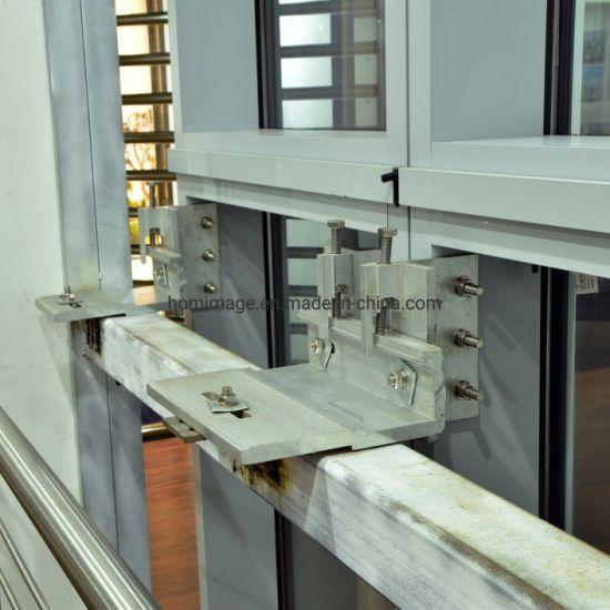China Hdm180 Aluminium Unitized Glass Curtain Wall - China