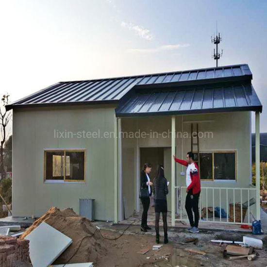 Economic Prefab Modular Steel Frame Villa House Prefabricated Building