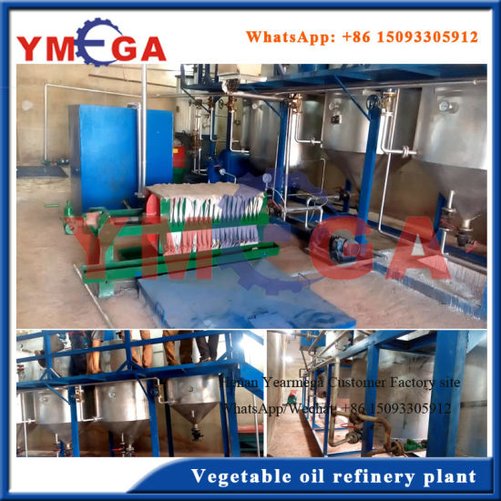 Supply Turkey Project High Grade Vegetable Oil Refining Equipment pictures & photos