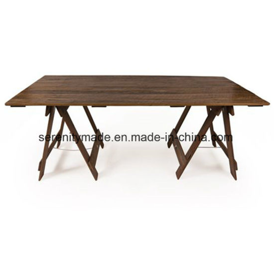 Rustic Style Outdoor Wooden Trestle