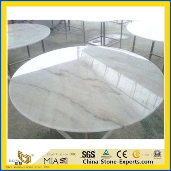 China Carrara Marble/Granite/Quartz Stone Table Top for Hotel Dining (White/Black/Grey/Yellow/Red/Pink/Brown/Beige/Green/G682/G654/G603/G664/Kitchen/Bathroom)