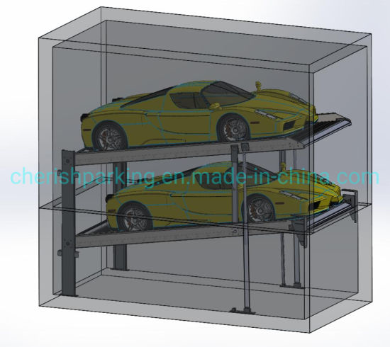 Pit Parking Lift for 2 Cars