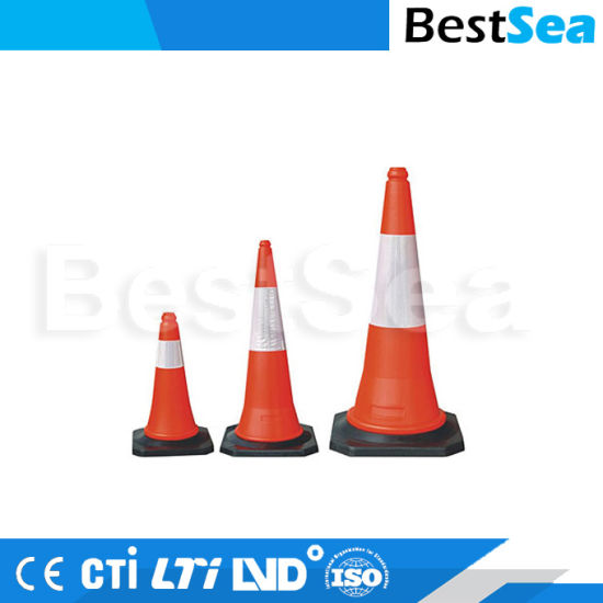 Traffic Cone PE, High Quality Road Safety Cones pictures & photos