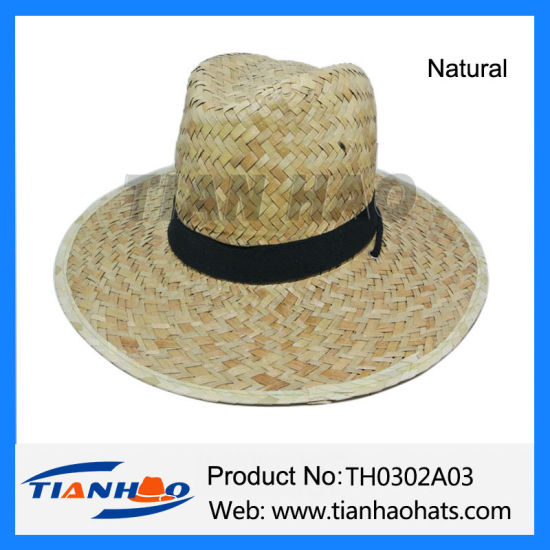 6f56ca40b Cheap Kwai Grass Straw Cowboy Hats for Promotional with Custom Design Band