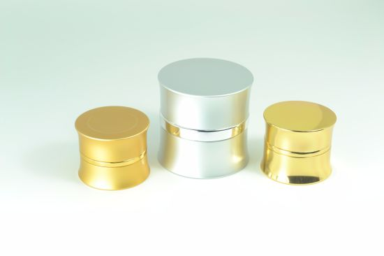 Empty Luxury Cream Aluminum Jar for Cosmetic Packaging pictures & photos