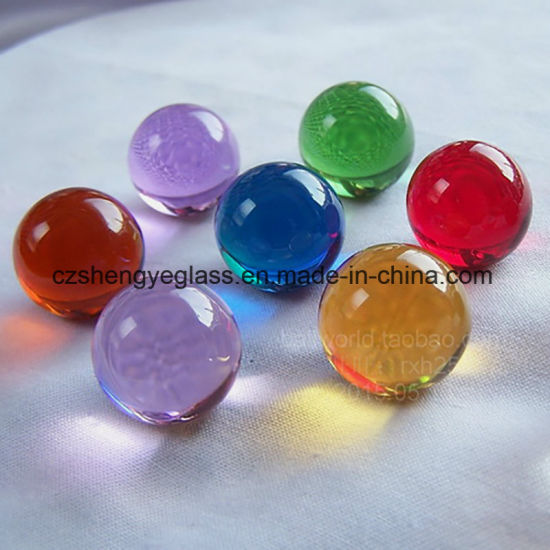 High Precision Small Crystal Marble Glass Ball
