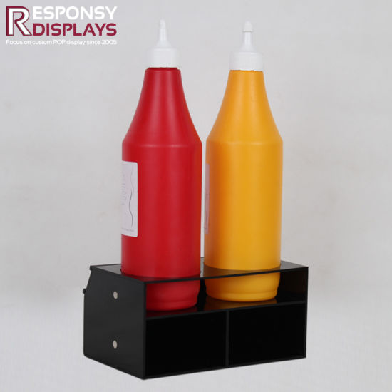 POS Wholesale Permanent Sauce Display Rack pictures & photos