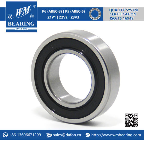 6005 Zz 2RS High Speed Spindle Radial Ball Bearing pictures & photos