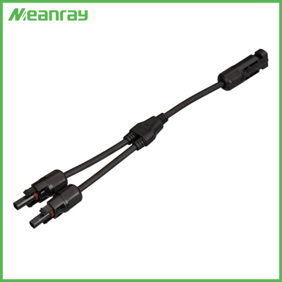 TUV UL Cable Mc4y Connectors PV Connectors with Solar PV DC Cable pictures & photos
