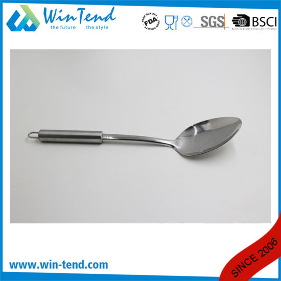 Wholesale Stainless Steel Kitchen Rice Spoon with Hook pictures & photos