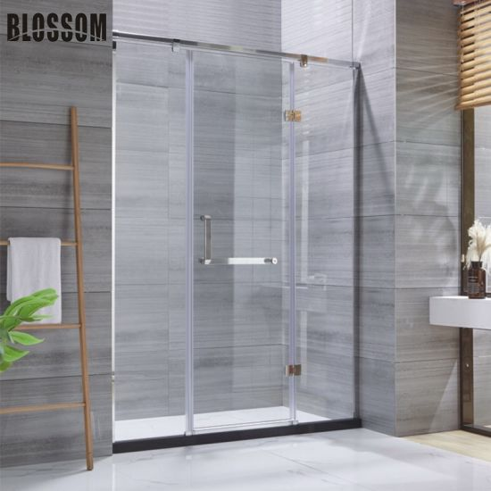China Pivot Hinged Bathroom Shower