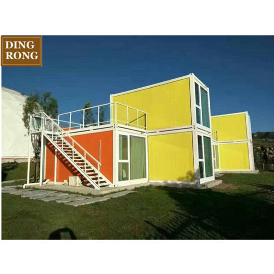 China Mobile Homes/House Davao Shipping Light Steel Frame ... on manufactured housing module home, yellow mobile stars, mystic yellow paint color home, burgundy with yellow trim home,