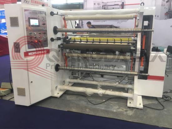 Fhqr High Speed Label Paper Slitting Machine 400 M/Min