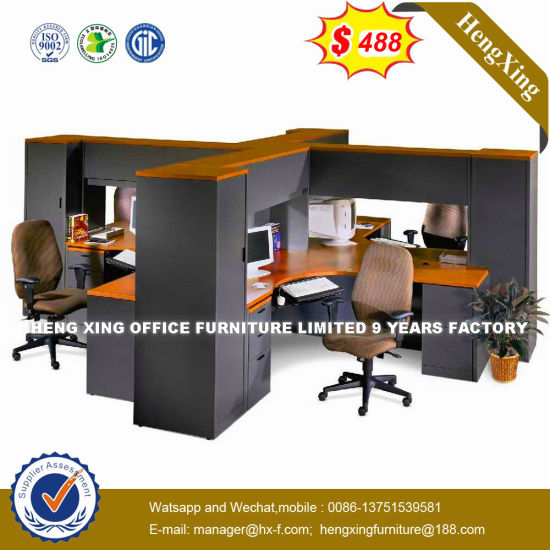 Elegant Design Table Particle Board Movable Furniture Office Partition  (HX 8N2282)