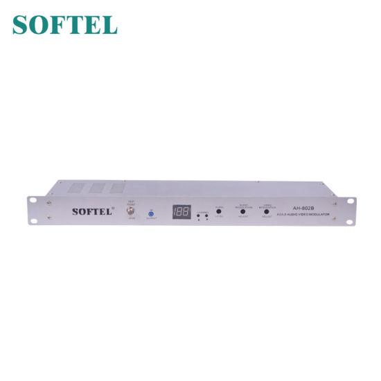 Ah802A CATV RF Modulator Single Channel Agile Modulator