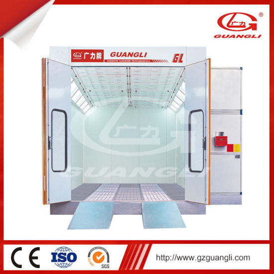High Quality Ce Approved Best Price Auto Spray Booth Painting Room with Lighting