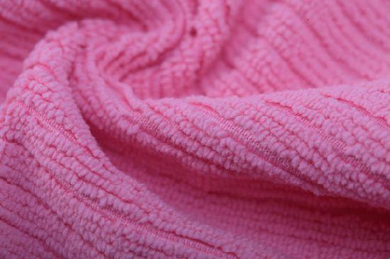 Microfiber Clean Towel Terry Strip Tea Cloth (YYMC-280S)