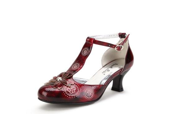 Fashion Design Kitten Heel Shoe for Women