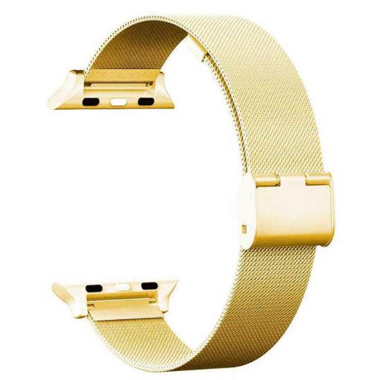China Factory Milanese Mesh Rose Gold Apple Watch Band China Mesh Band And Mesh Watch Band Price