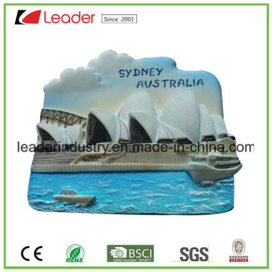 3D Polyresin Custom Fridge Magnet for Souvenir Collection pictures & photos