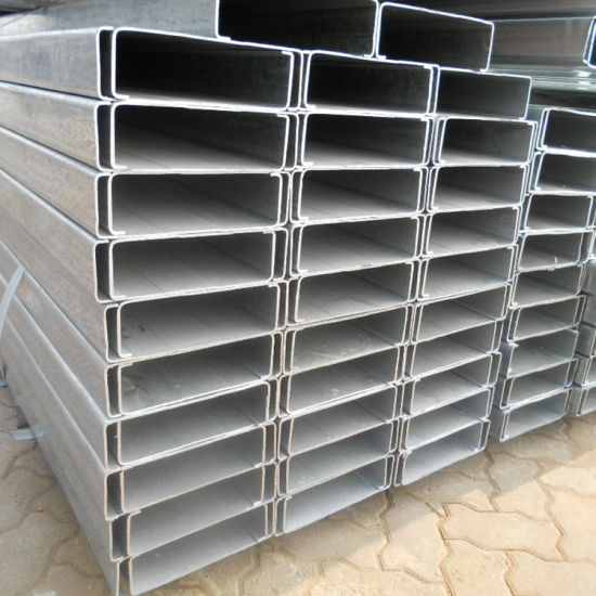 New Arrival Product Slotted Steel C Purlin Metal Roofing C Purlins