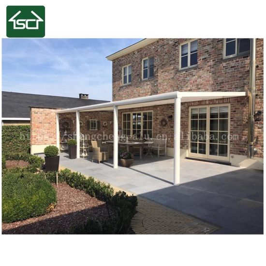 UV Protection Patio Cover Awning With Polycarbonate Roof And Aluminum  Profile