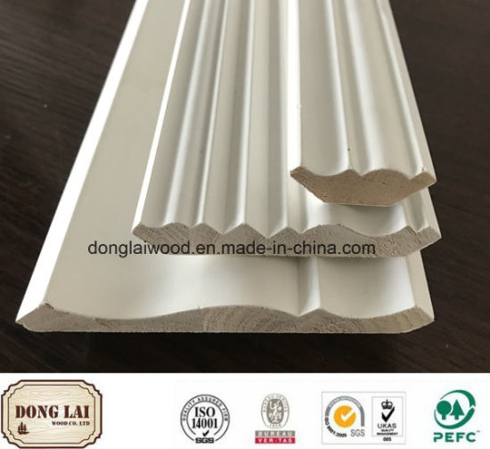 Building Material China Factory Supply High Quality Competitive Price  Custom Waterproof Decorative Ceiling Crown Wood Moulding