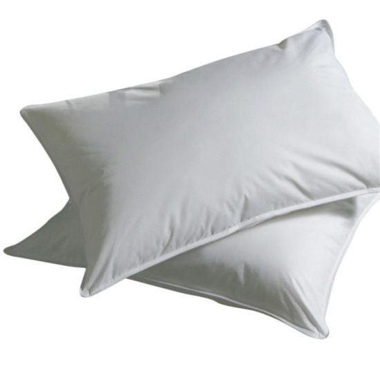 100% Cotton Cover 5 Star Hotel Custom Wholesale White Goose Down Pillow pictures & photos