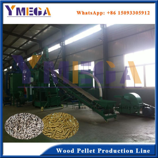 China High Quality Complete Wood Pellet Production Line for Sale pictures & photos