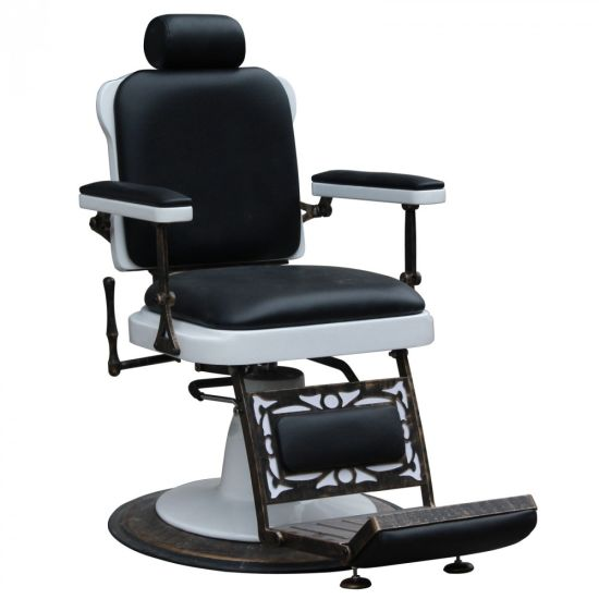 china vintage reclining hair salon barber chairs with towel holder