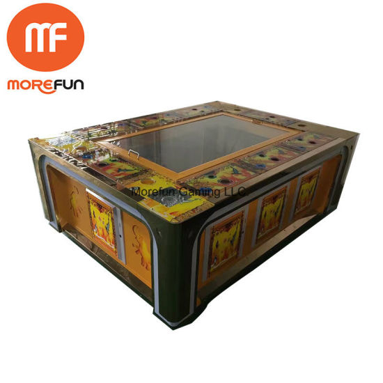 China video arcade fish hunter game machine ocean king for How to play fish table game