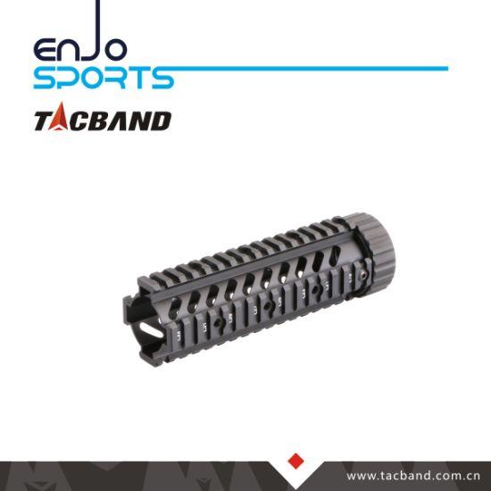 China Tactical 9 Inch Free Float Steel Barrel Nut Quad