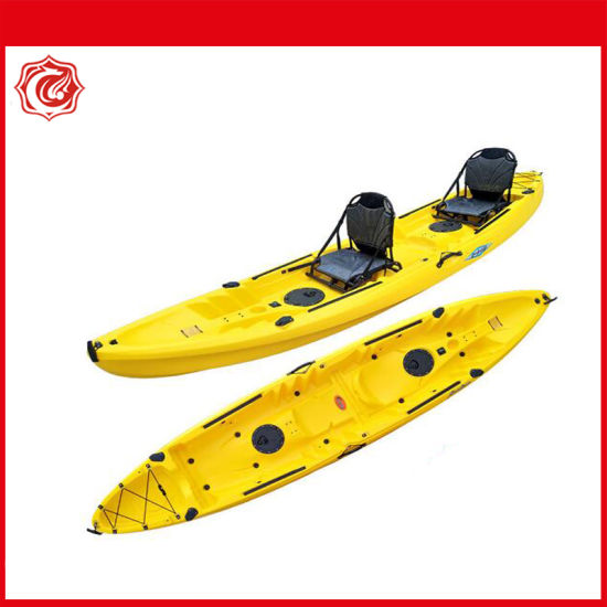 13FT Sit on Top 2+1 Seat Kayak with Paddles