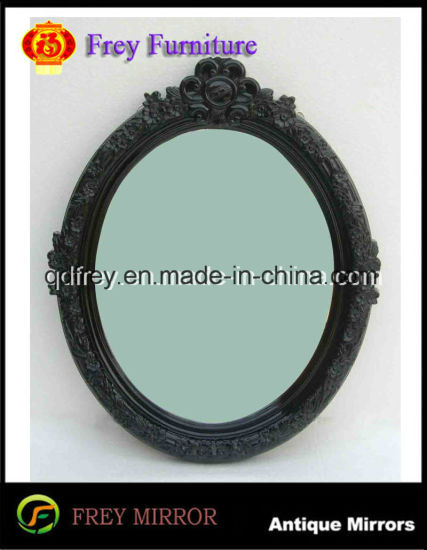 China Solid Wood Antique Design Wall Mirror Frame China Mirror