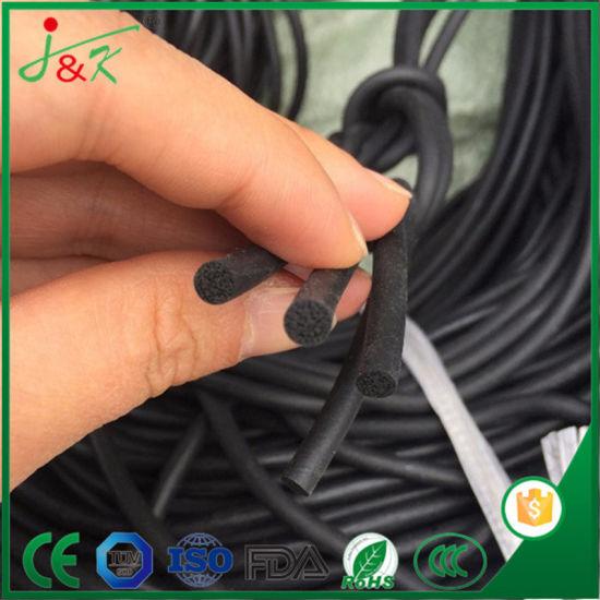 High Quality OEM Black FKM/Viton Rubber Cords