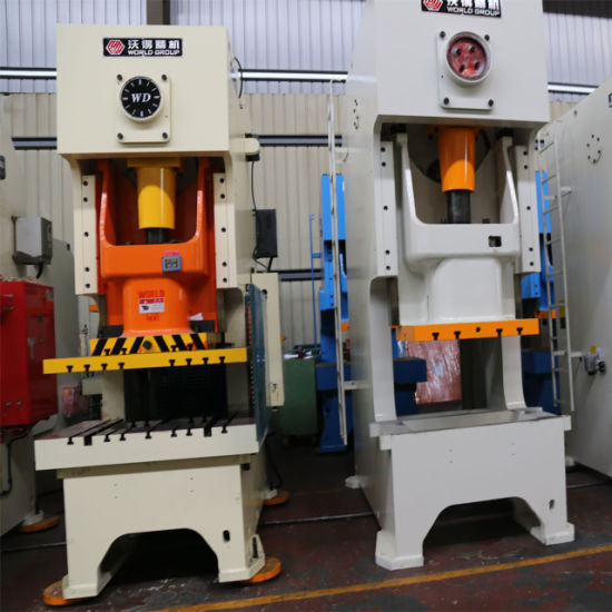 China Jh21-400 C Frame 400 Ton Progressive Metal Punching Press ...