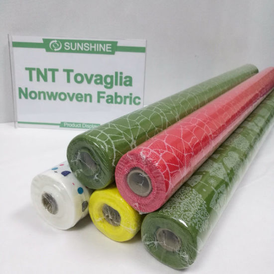 Nonwoven Spunbonded Table Cloth; TNT Table Cloth (NONWOVEN-SS03) pictures & photos