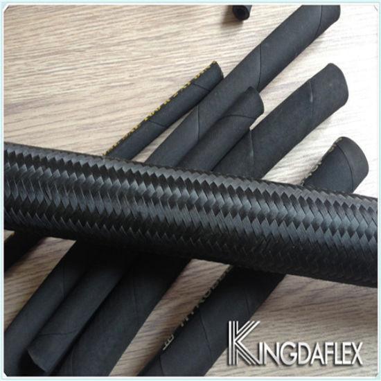 High Temperature SAE 100 R5 Textile Braided Flexible Industrial Hydraulic Hose