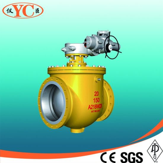 Low Torque Manual Gear Operated Welding Ball Valve pictures & photos