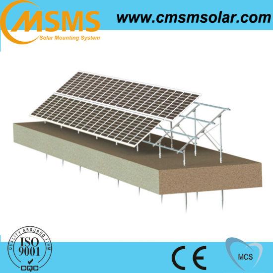 China Ground Mounted Solar Panel Frames - China Solar Mounting ...