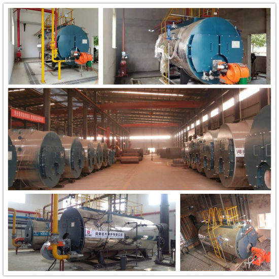 Wns Series Aotomatic Gas Fired Steam Boiler 5ton/H pictures & photos