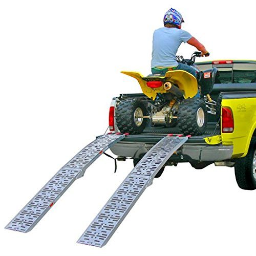 "90"" Dual Runner Aluminum Solid Surface Arched Folding ATV Ramps with a 1, 500 Lb. Capacity pictures & photos"
